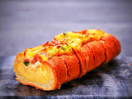 Bacon, Egg, and Cheese Breakfast Bread Boat